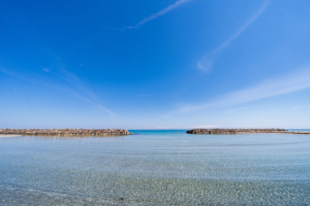 五色ヶ浜海水浴場
